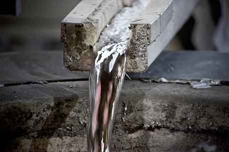 aluminium-schmelzen